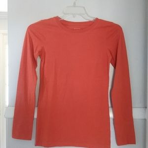 NWOT mossimo burnt orange basic l/s tee